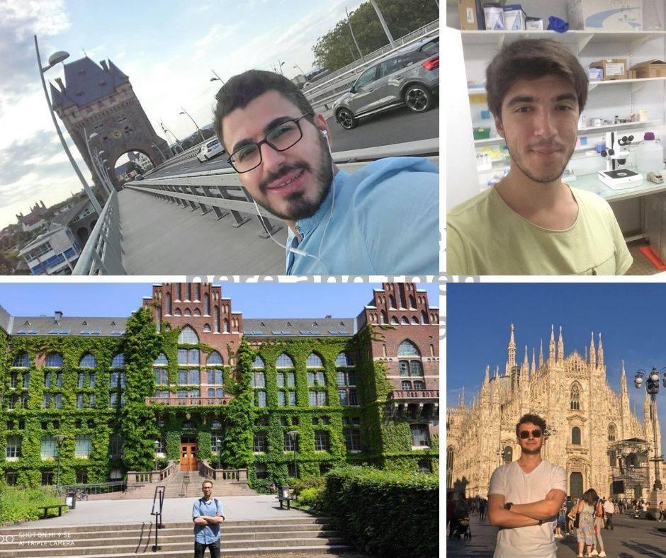 AGÜ Öğrencileri 2019 Erasmus Stajında