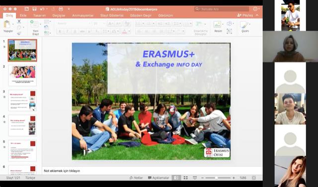 Erasmus Soru-Cevap Oturumu