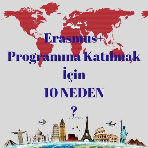 Erasmus Programına Katılmak için 10 Neden!