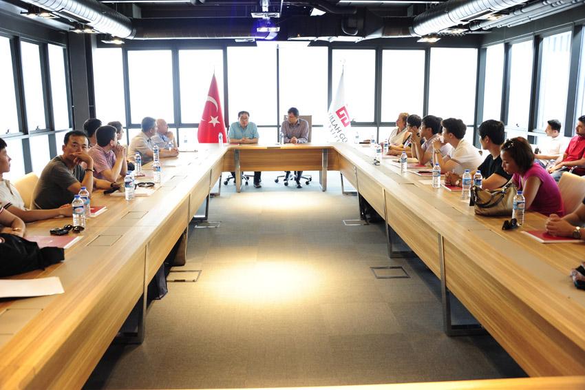 Hanyang Üniversitesi Öğrencileri AGÜ'de...