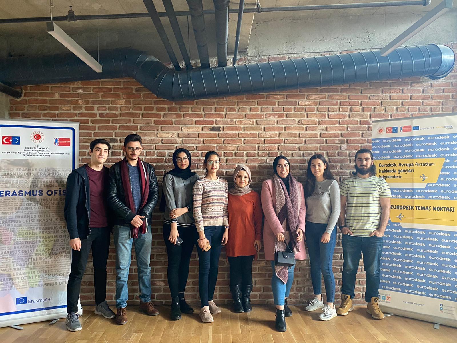 Erasmus ve Exchange Gelen Öğrencilerimiz