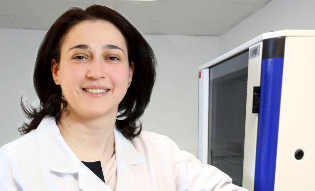 Yrd. Doç. Dr. Hümeyra Çağlayan'a ''Araştırmacı Bilim Kadını'' Ödülü...