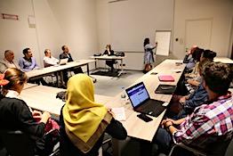 AGÜ'de Uluslararasılaşma Çalıştayı...