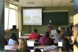Prof.Dr.Niğmet UZAL Made a Presentation About