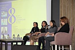 İlham Veren Güçlü Kadınlar Konulu Panel