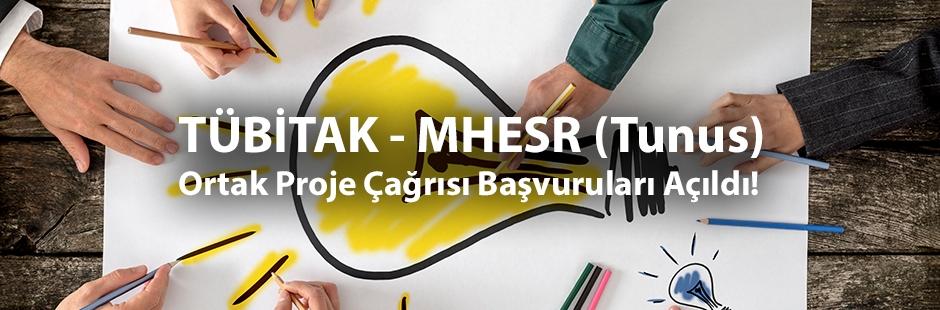 TÜBİTAK - MHESR (Tunus) Ortak Proje Çağrısı Başvuruları Açıldı!