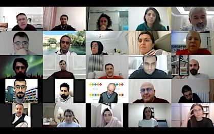 Rektör Sabuncuoğlu'ndan Öğretmenlere Online Konferans