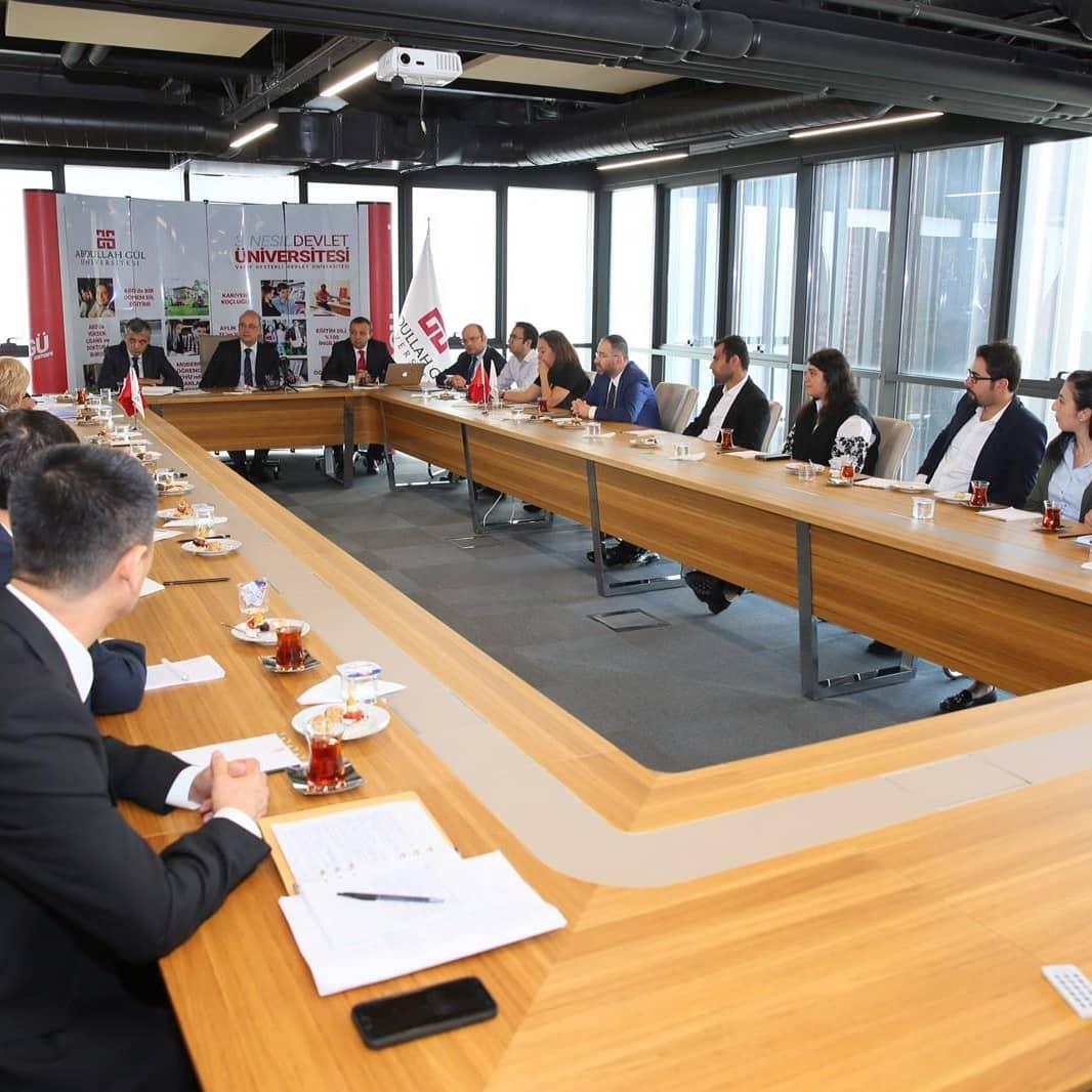 AGU Department of Civil Engineering Hosted Uzbek Delegation
