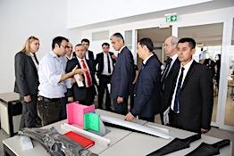 Özbekistan İnşaat Bakanlığı Heyeti'nden AGÜ'ye Ziyaret...