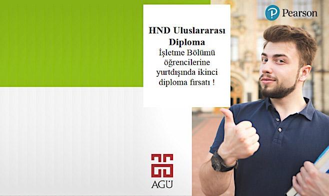 AGÜ İşletme'den Uluslararası Diploma Fırsatı