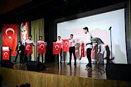 AGÜ'de Şehitleri Anma Programı