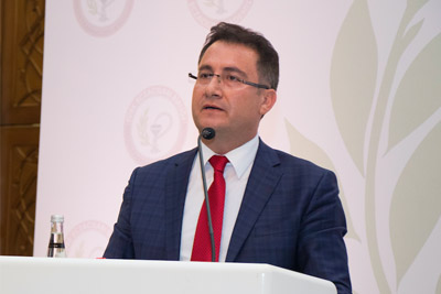 AGÜ Rektör Yardımcısı Prof. Dr. Baran'a AB Parlamentosu'ndan Davet...