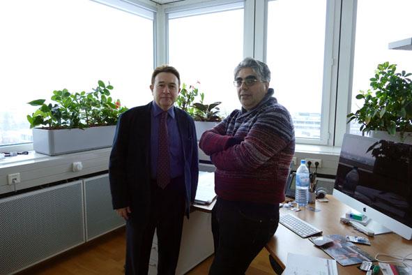 Rektör Sabuncuoğlu'ndan Almanya Ziyareti...