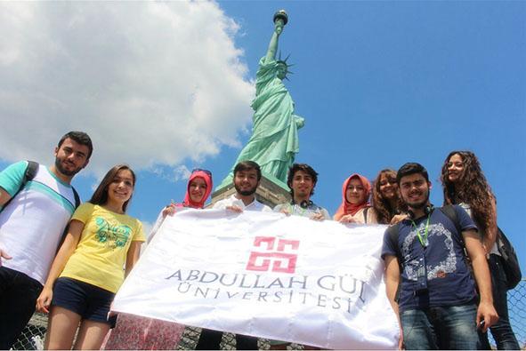 AGÜ'lü Öğrenciler Amerika'da...