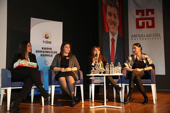 Arya Kadın Yatırım Platformu AGÜ'de...