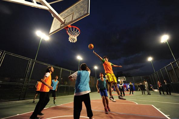 AGÜ'de Basketbol Heyecanı...