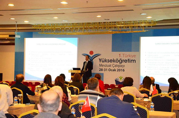 Türkiye Yükseköğretim Mevzuat Çalıştayı...
