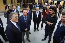 11. Cumhurbaşkanı Abdullah Gül'den AGÜ'ye Ziyaret...