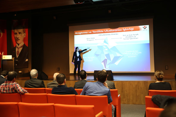 AGÜ'de, Avrupa Birliği Ufuk 2020 Programı Ulusal Bilgi Günü Düzenlendi...