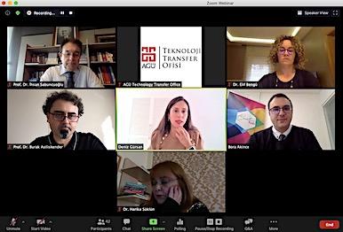 AGÜ Creative Hub Merkezi Online Törenle Açıldı...