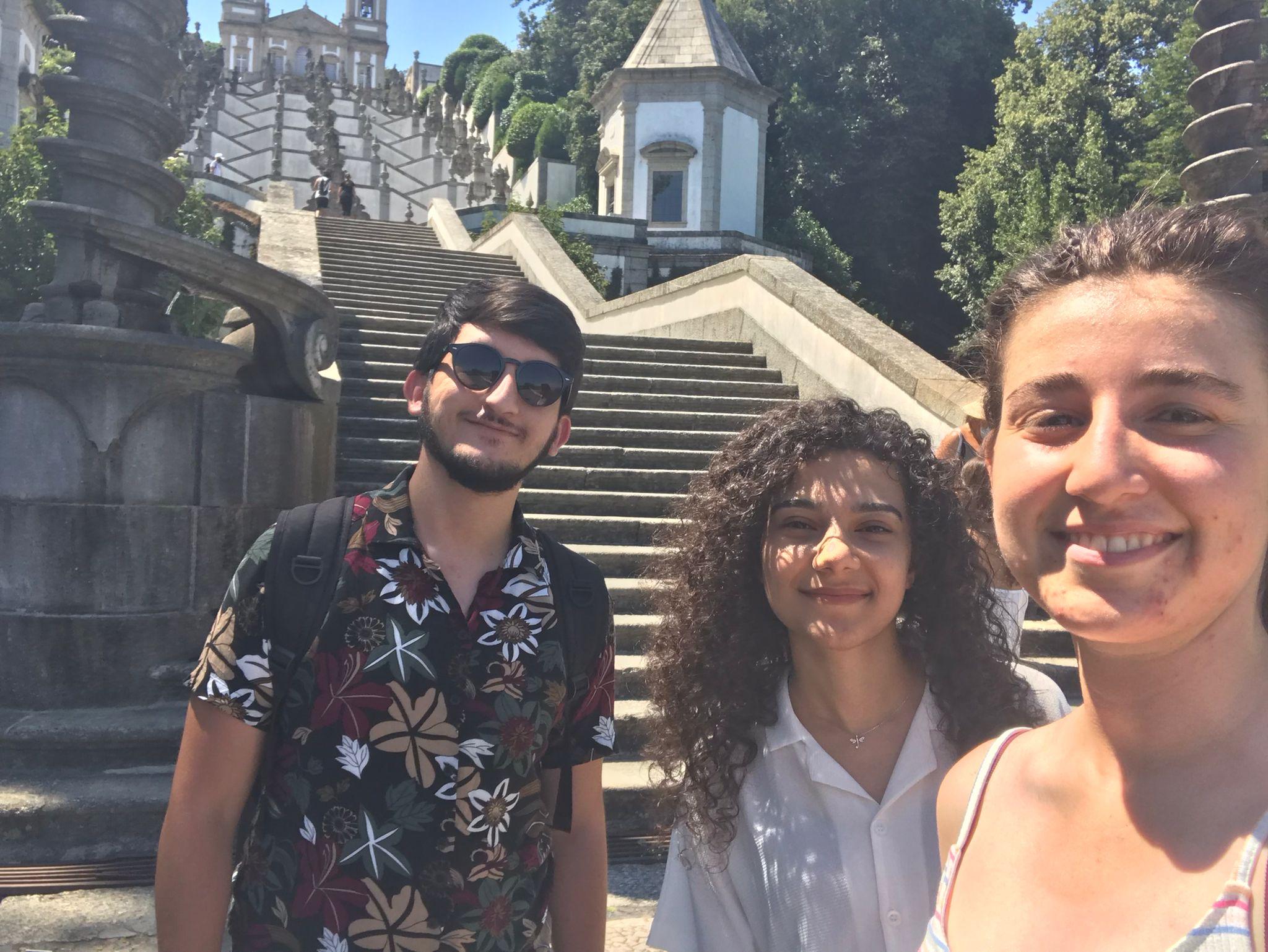 AGÜ'lü Öğrenciler Portekiz'de