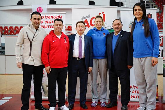AGÜ Spor – UMMC Ekaterinburg Karşılaşması...