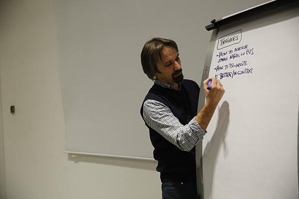 Avrupa Gönüllü Hizmeti Değerlendirme Toplantısı AGÜ'de Yapıldı...