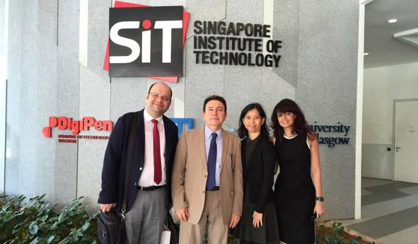 AGÜ'den Malezya ve Singapur Üniversiteleriyle İşbirliği Görüşmeleri...