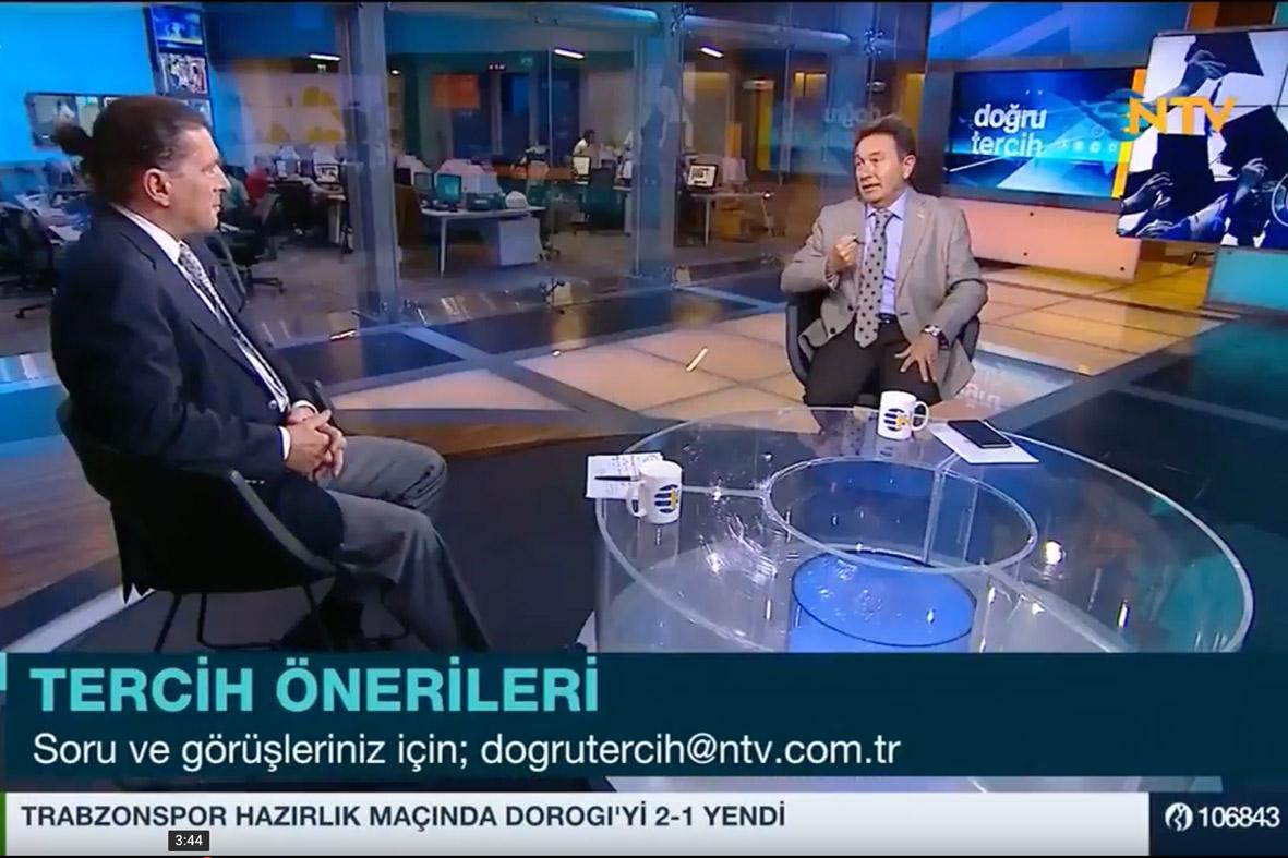 Rektör Sabuncuoğlu, TV Eğitim Programlarına Konuk Oldu...
