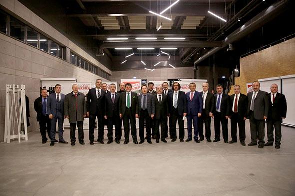 ÜSAİV Yönetim Kurulu AGÜ'de Toplandı...