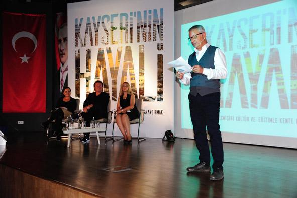 Kayseri'nin Hayali AGÜ'de Konuşuldu...