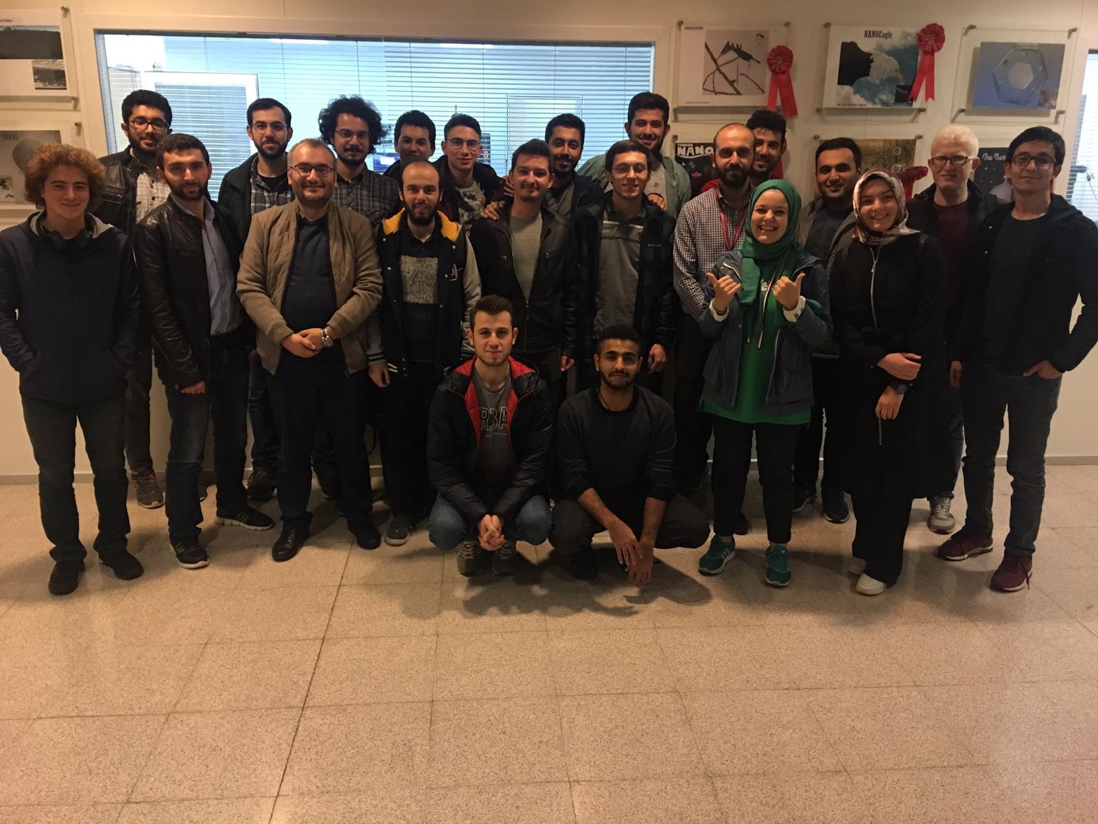 Bilkent Üniversitesi Malzeme Bilimi ve Nanoteknoloji Enstitüsü'ne Teknik Gezi