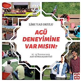 AGÜ'den Lise Yaz Okulu...