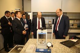 YÖK Başkanı Prof. Dr. Saraç'tan AGÜ'ye Ziyaret...