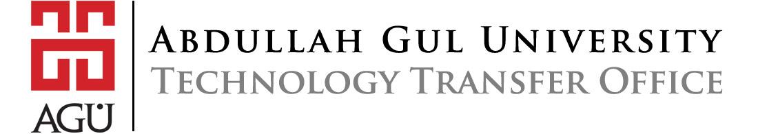 Abdullah Gül Üniversitesi Teknoloji Transfer Ofisi (AGÜ TTO)